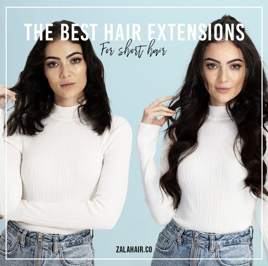 The Best Hair Extensions For Short Hair Zala Clip In Hair Extensions