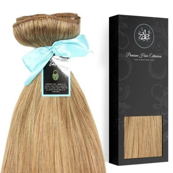 Zala - Honey Blonde #18 Clip in Hair Extensions-
