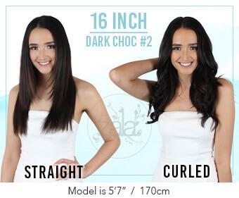 Zala - Caramel #10 Clip in Hair Extensions