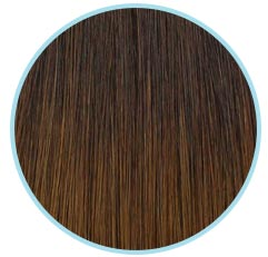 Chocolate Swirl Hair Extensions